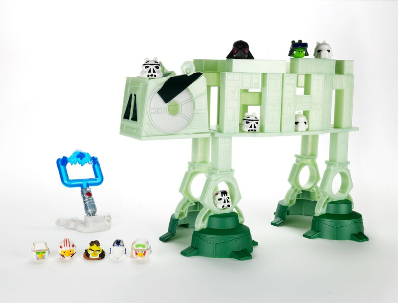 Angry Birds Star Wars At At Attack Battle Game Post Post Modern Dad