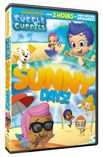 Bubble Guppies Sunny Days Dvd Review Post Post Modern Dad