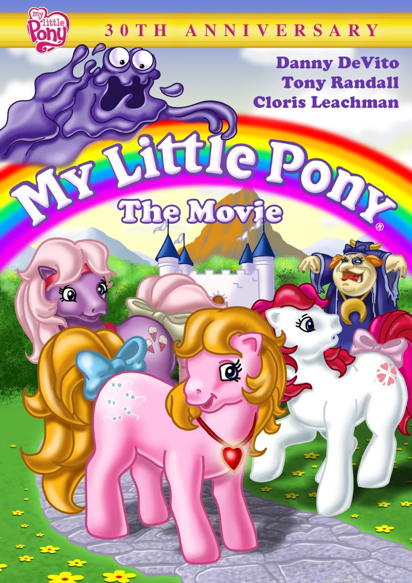 My LIttle Pony: The Movie (DVD) | post post modern dad