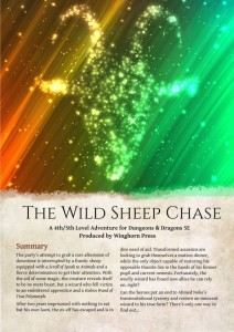 wild sheep chase