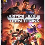 justice league v teen titans box